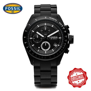 [파슬시계 FOSSOIL] CH2601 / Mens Decker Black 42.5mm
